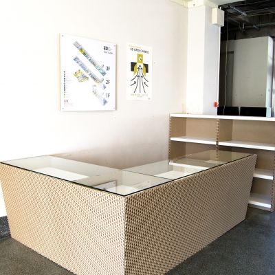Ikejiri Institute of Design(IID)Entrance Counter